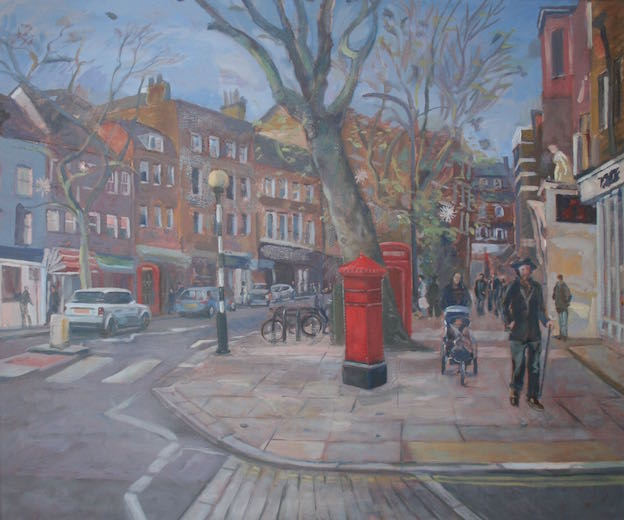 "Hampstead High Street 20"" x 24"" (SOLD)"