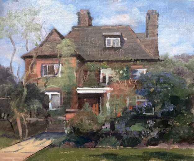 """Lovely House, Heathgate. 12"""" x 16 Available £250"""""""