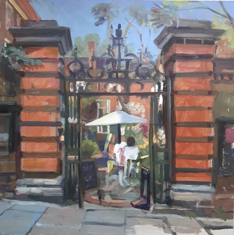 Burgh House - Midday Sun 12 x 12
