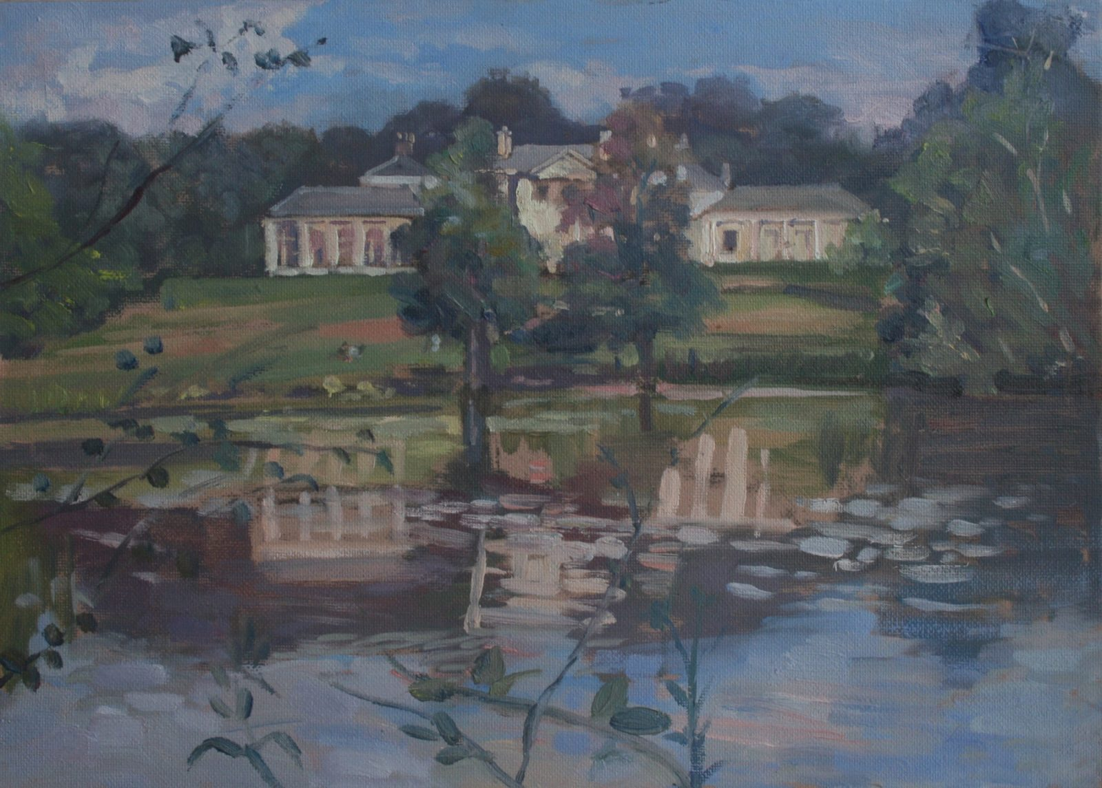 "Kenwood House Lake View 10"" x 14"" £200 (Available)"