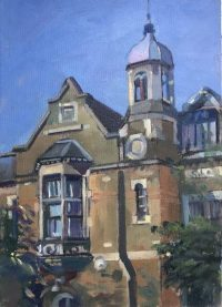 Old school Hampstead 10 x 14