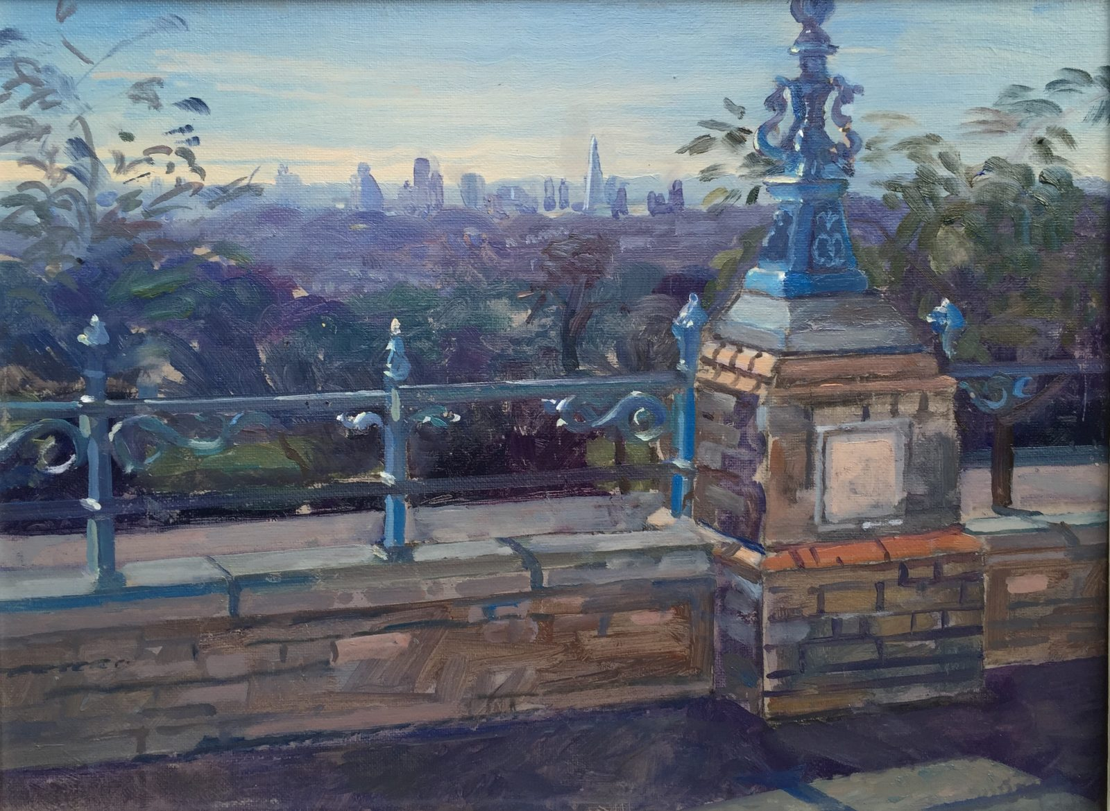 View from Alexander Palace (SOLD) but available as a print on canvas