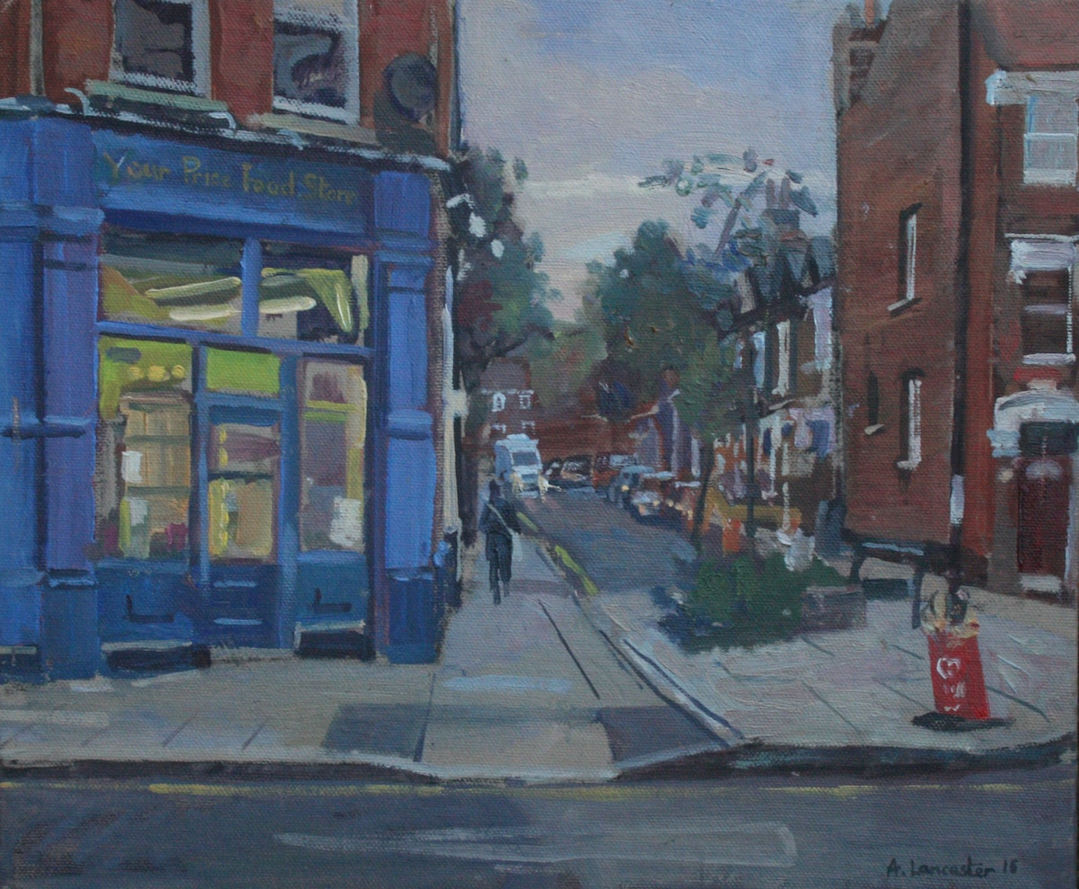 "Your Price Food Store. Highbury 10"" X 14"" £225 (AVAILABLE)"