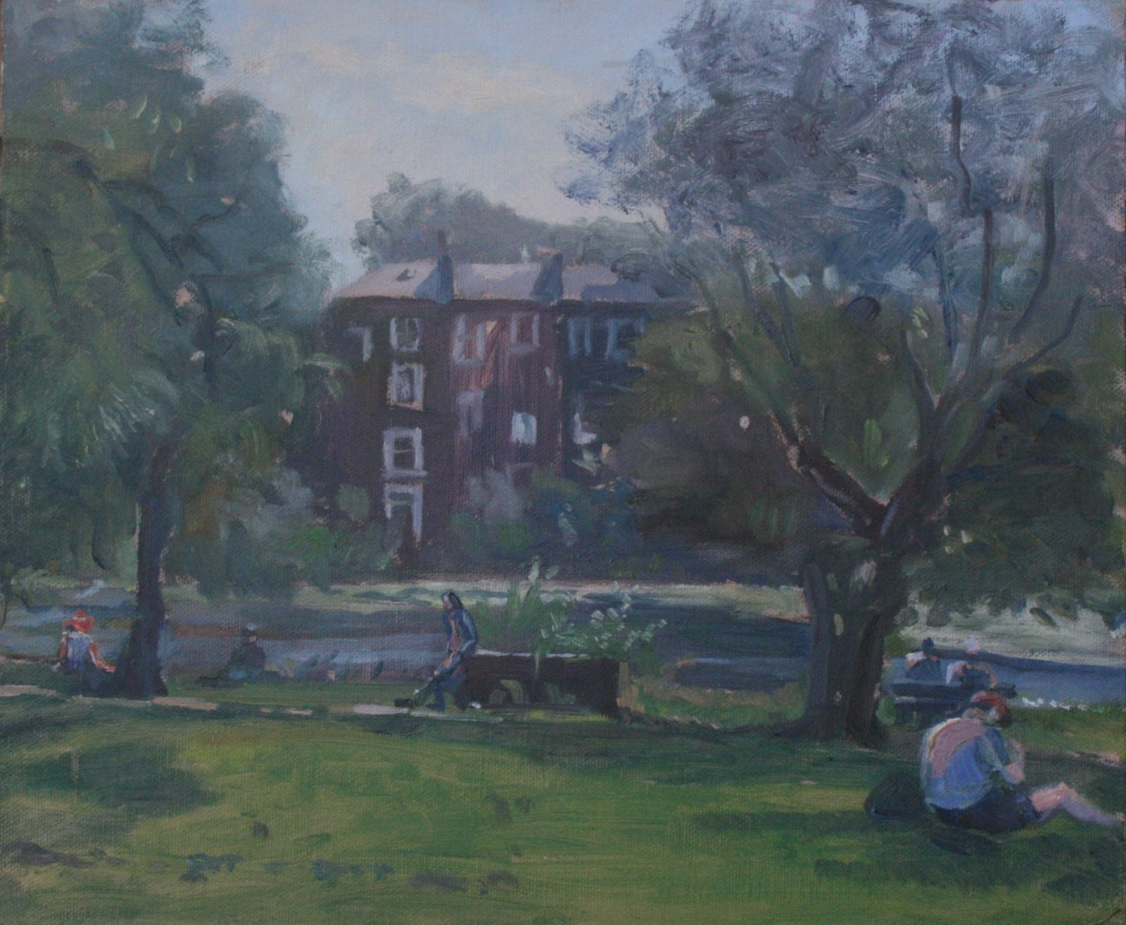 The Duck Pond Hampstead (SOLD)
