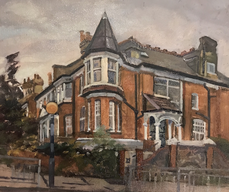 27 Dukes Avenue, Muswell Hill, Late November (10 x 12) SOLD