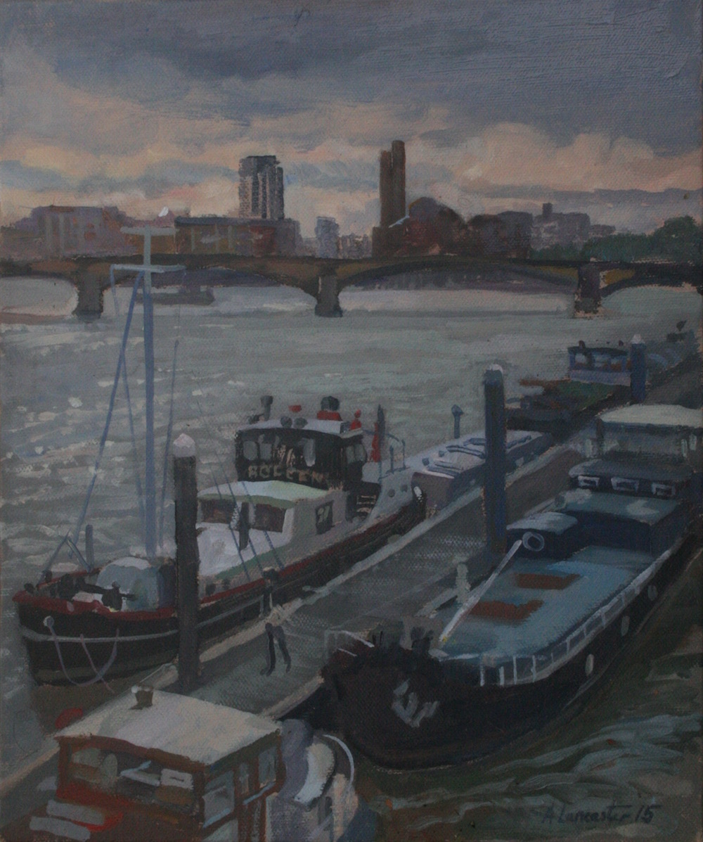 Albert Bridge. Late Summers Day View (10 x 12 ) £295