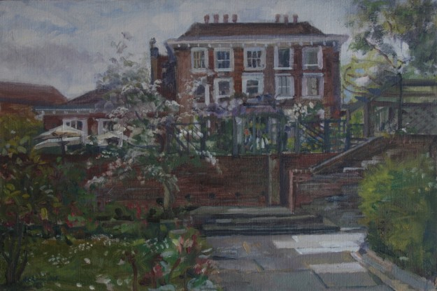 Burgh House from the Garden (10 x 15 ) £325 SOLD