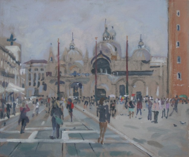 Place San Marco, April Morning (10 x 12) SOLD