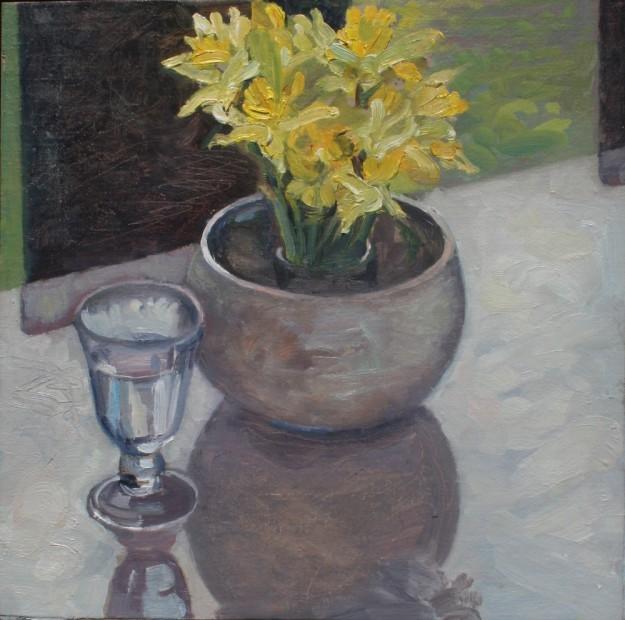 Spring Daffodils (12 x 12) £295