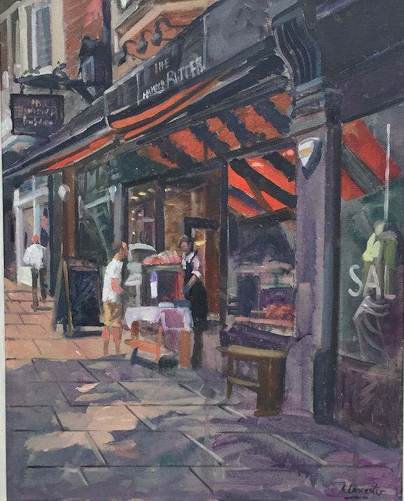 The Butchers Shop Hampstead (16 x 20) £395
