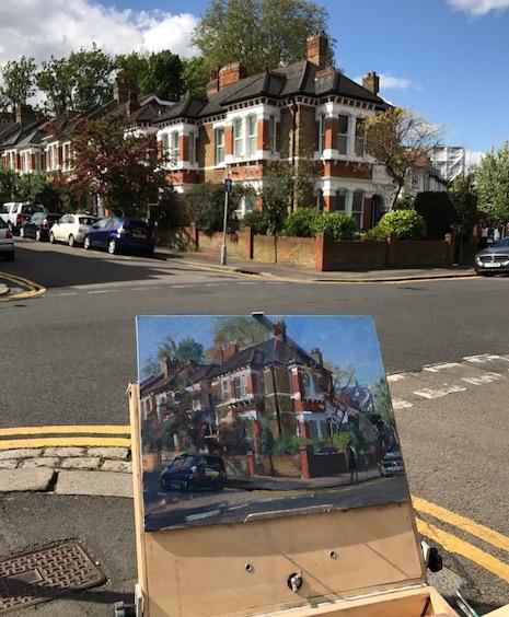 57 Coleridge Road. Crouch End