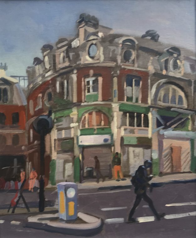 "Construction Project Smithfield 10"" x 12 ""£350"