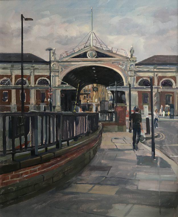"""Smithfield Market . 20"""" x 24"""" £525"""