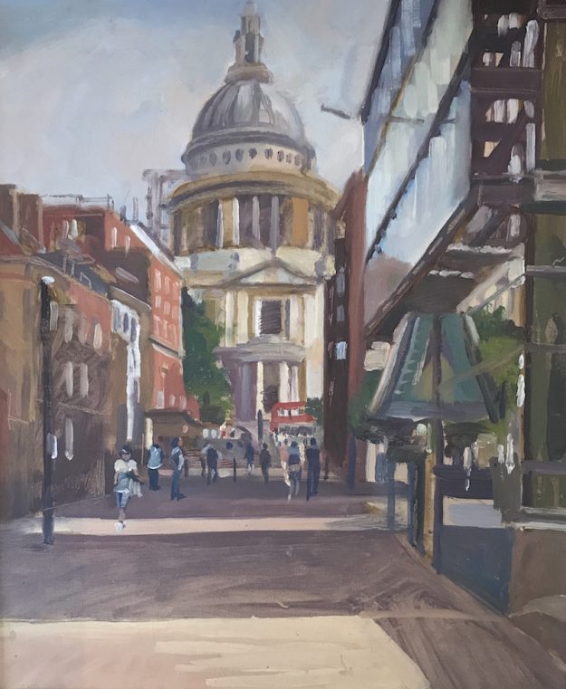 St Pauls . Early morning £350