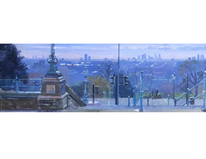 Alexandra Palace Overlooking the City 8 x 24 £495