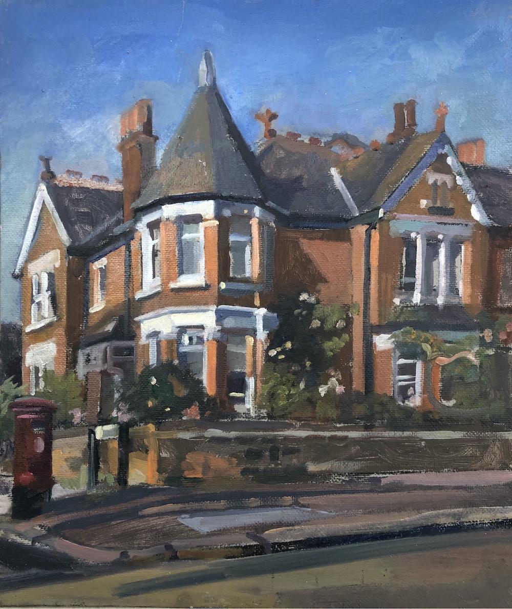 Corner House Dukes Avenue 10 x 12 £250