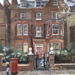 Family Home, Netherhall Gdns, Hampstead, 20 x 16 (Sold)