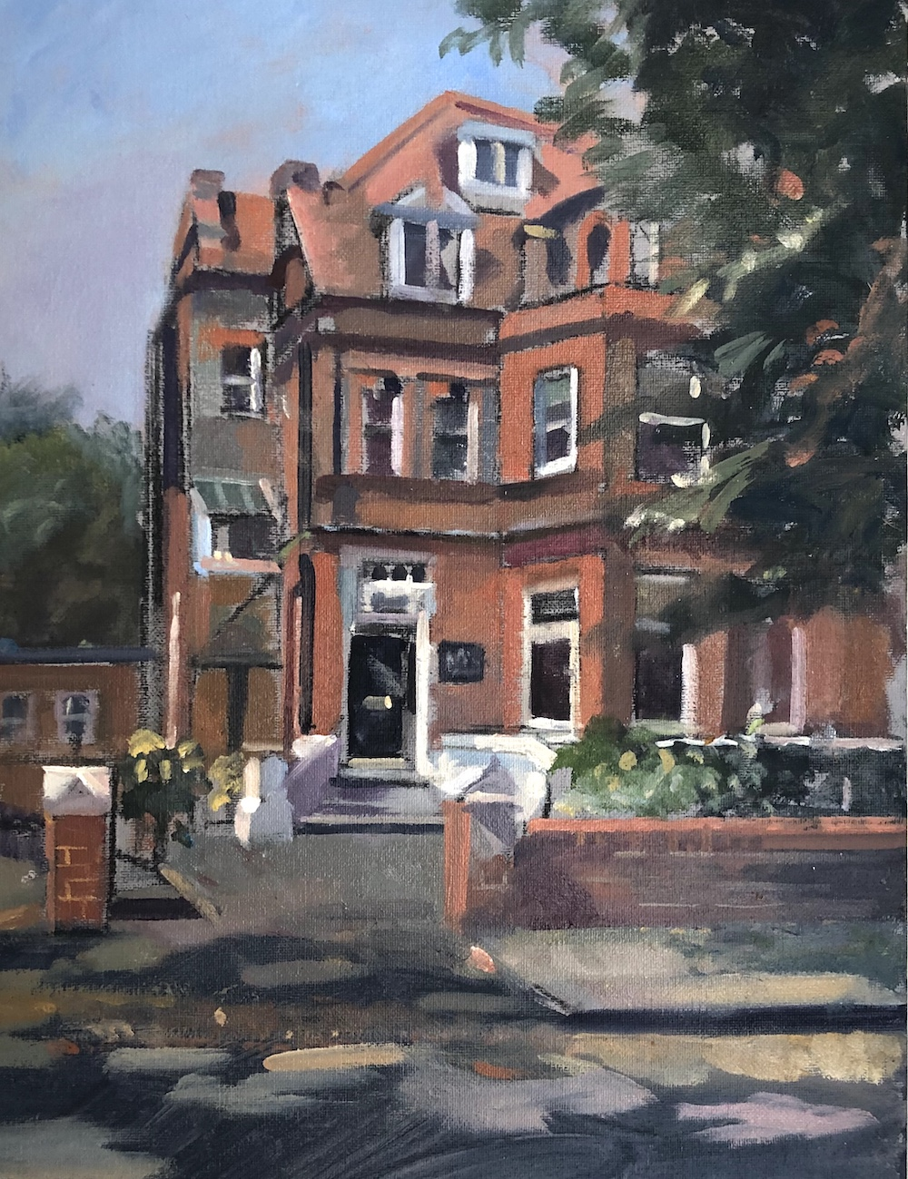 "Hereward House School 12"" x 16"" (Sold)"