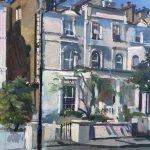 "Victorian Splendour, Randolph Road. W( 16"" x 12"" £450"