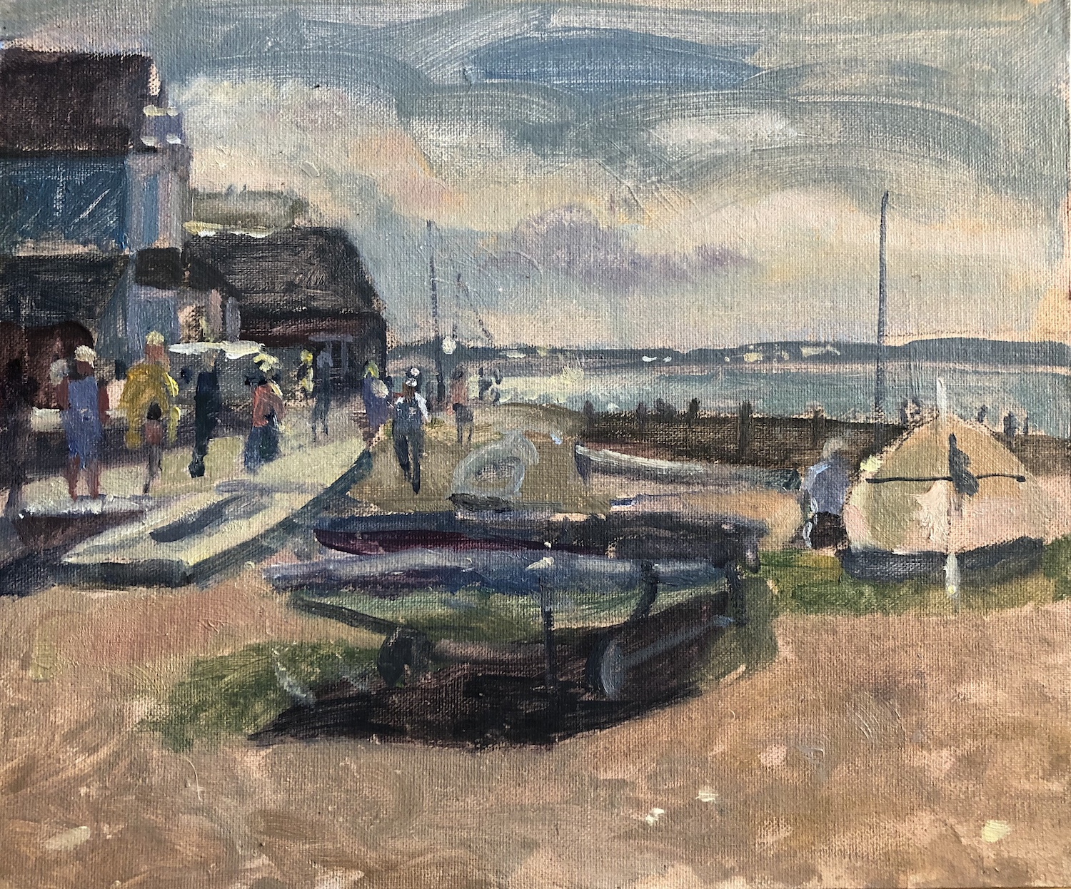 September Afternoon, Whitstable Promenade Towards Sheppey (SOLD)