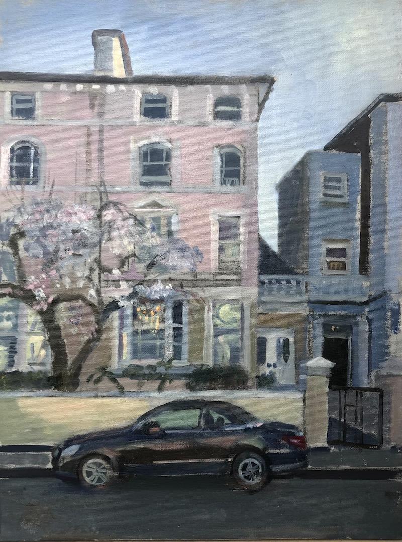 Spring Blossom. Regents Park Road 16 x 12 Sold