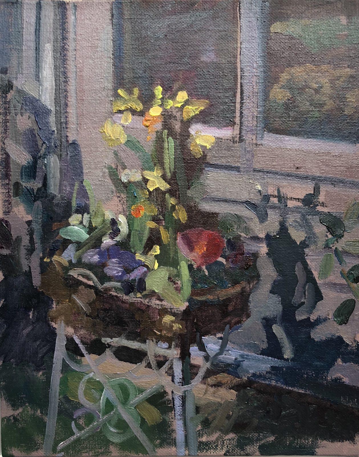 Spring Planter. Farrer Road 8 x 10 (SOLD)