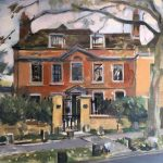 """The Apothecary House, Highgate 12"""" x 16"""" (£300) Available"""