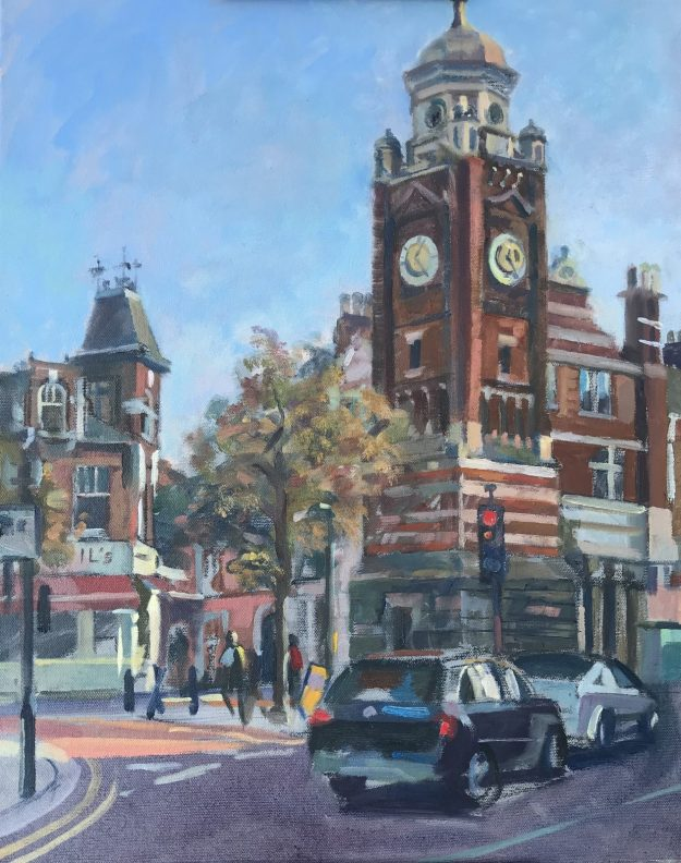 The Clock Tower, Crouch End 16 x 20 £450