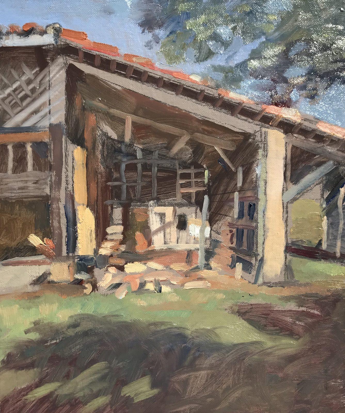 Old Barn Cizos 10 x 12 £325