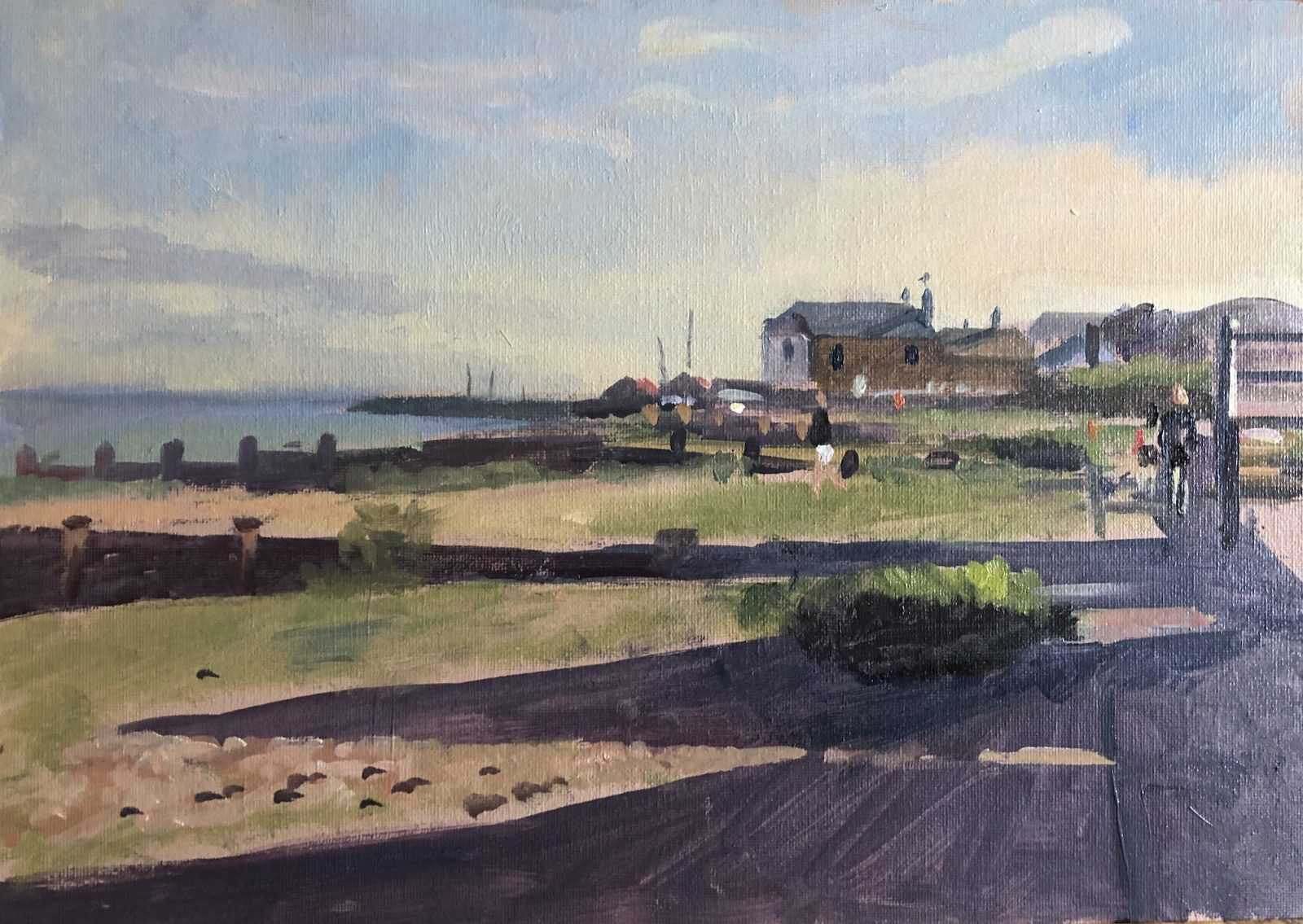 The Whitstable Oyster Company from the Neptune 10 x 14 (SOLD)
