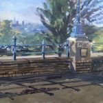 View from Alexandra Palace, Overlooking Crouch End 18th May 2021 12 x 16 £300
