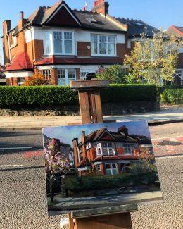 84 Cranley Gardens 12 x 16. £350